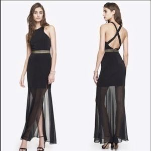 *reposh* Express cocktail dress formal gown
